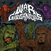 Philip H. Anselmo / Warbeast - War Of The Gargantuas (Split-EP) - CD-Cover