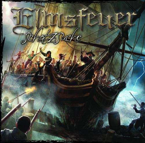 Elmsfeuer - Schatzsuche - Cover