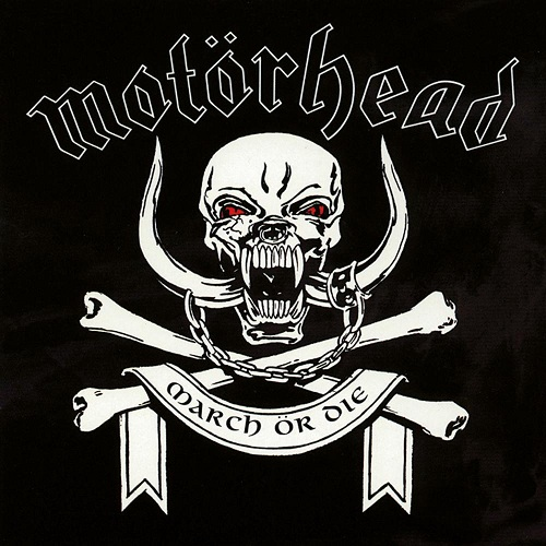 Motörhead - March Ör Die - Cover