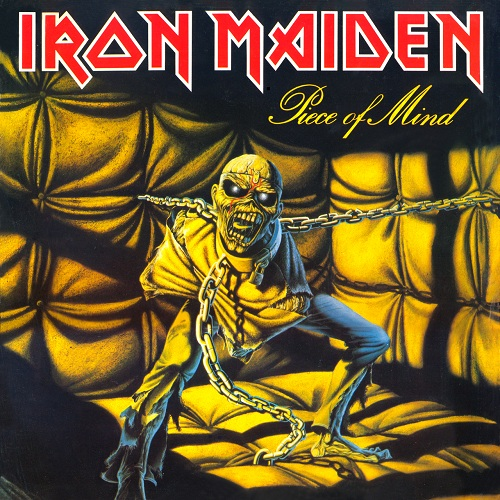 Iron Maiden - Piece Of Mind - Cover