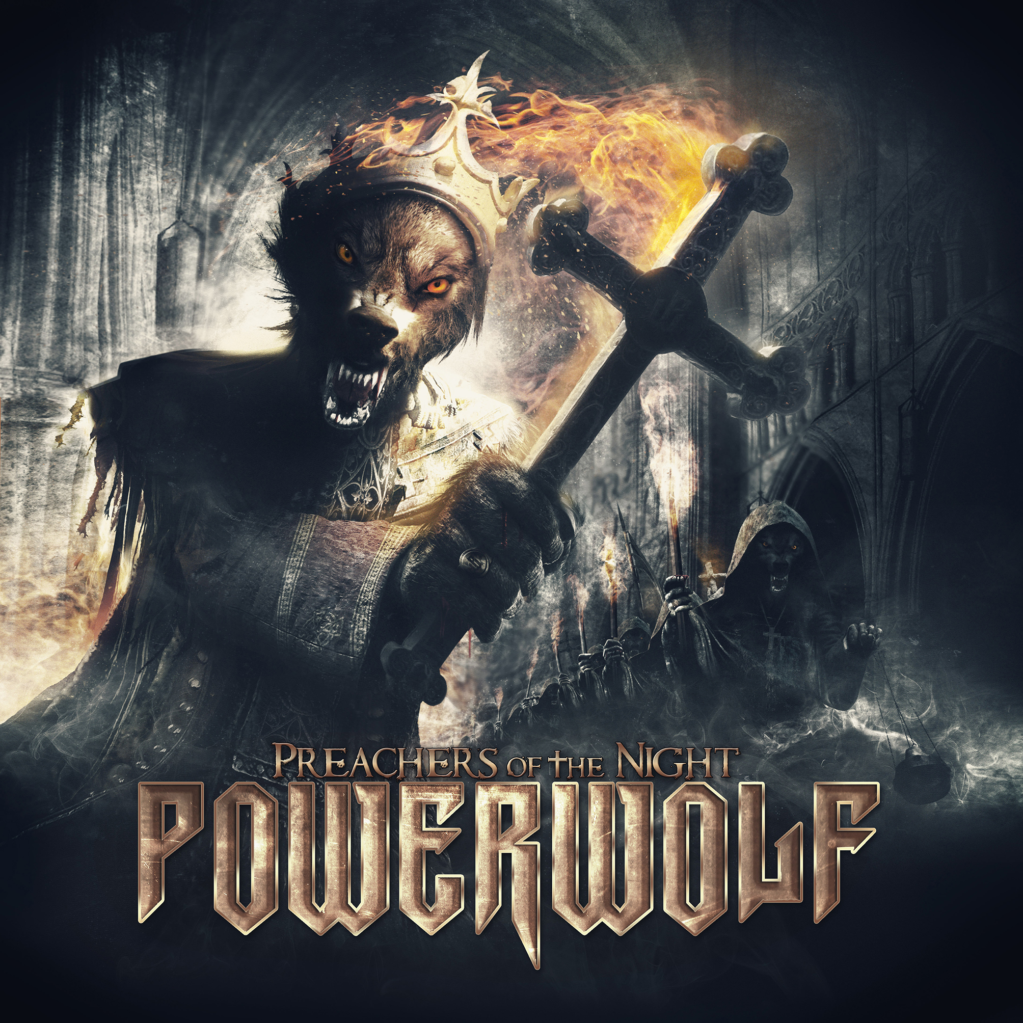 Powerwolf - Preachers Of The Night - Cover