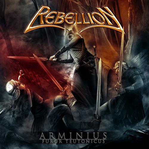 Rebellion - Arminius: Furor Teutonicus - Cover