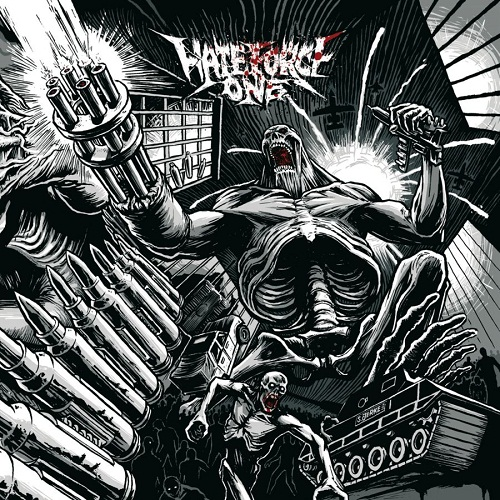 Hate Force One - Wave Of Destruction - Cover