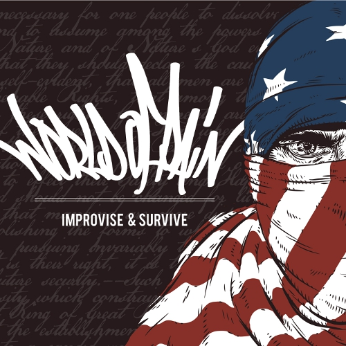 World Of Pain - Improvise & Survive - Cover