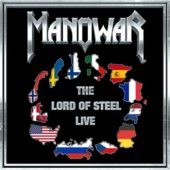 Manowar - The Lord Of Steel Live - CD-Cover