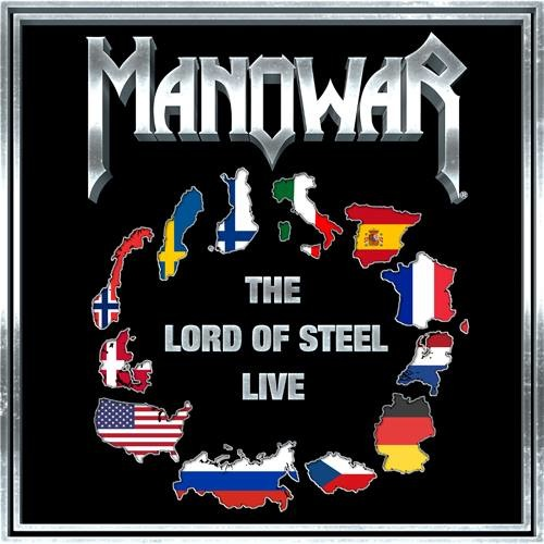 Manowar - The Lord Of Steel Live - Cover