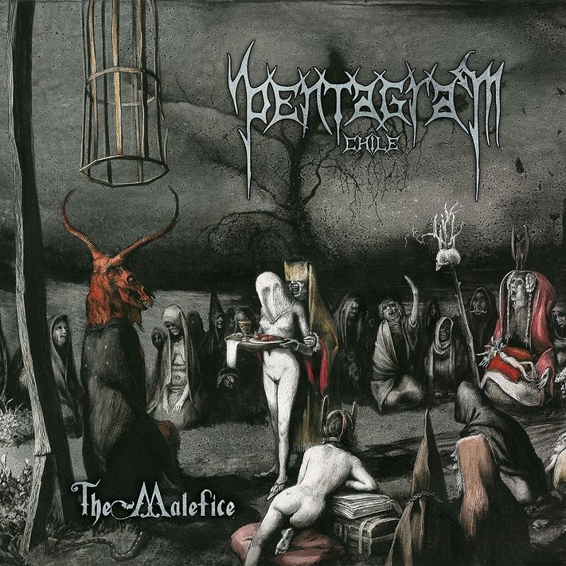 Pentagram Chile - The Malefice - Cover