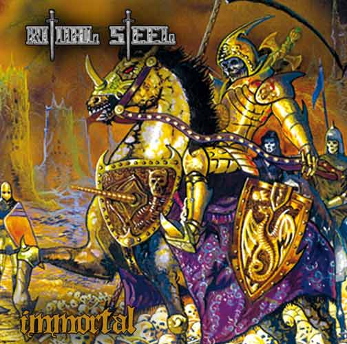 Ritual Steel - Immortal - Cover