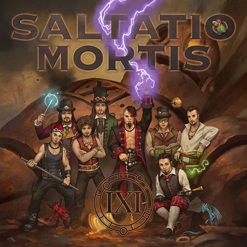 Saltatio Mortis - Das schwarze IXI - Cover
