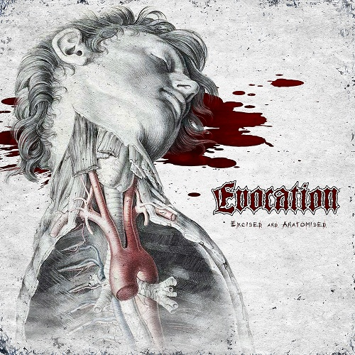Evocation - Excised And Anatomised (EP) - Cover