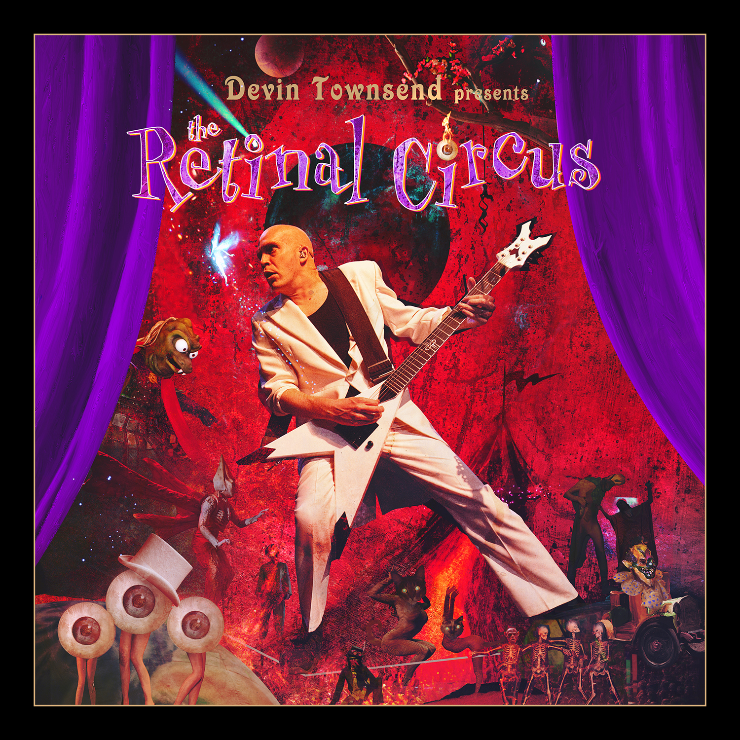 Devin Townsend Project - The Retinal Circus - Cover