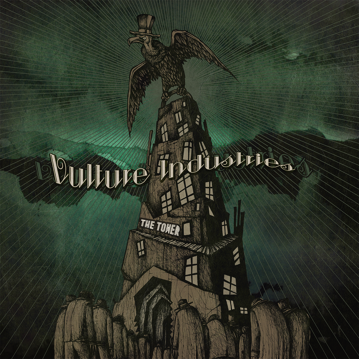 Vulture Industries - The Tower - Cover