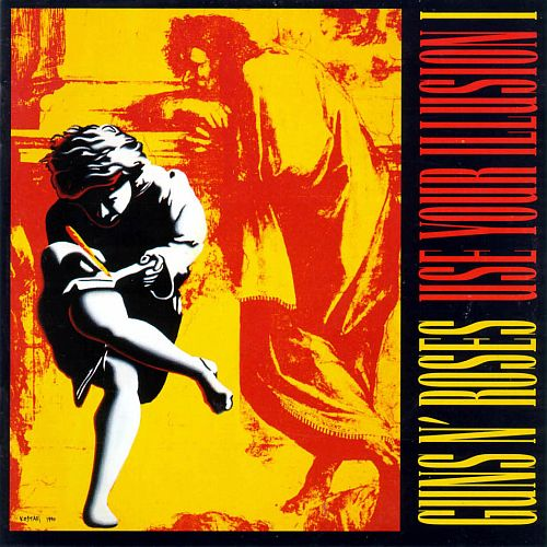 Guns N' Roses - Use Your Illusion I - Cover