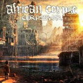African Corpse - Corpsewar - CD-Cover