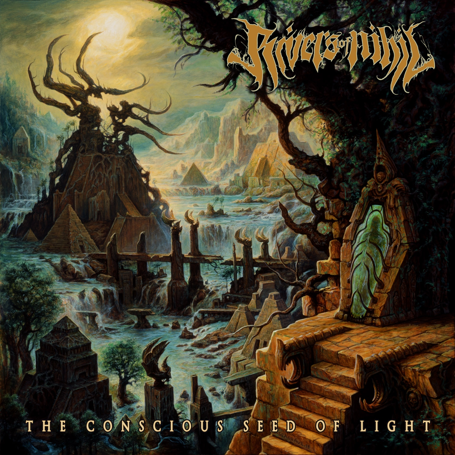 Rivers Of Nihil - The Concious Seed Of Light - Cover