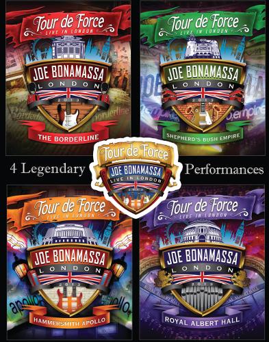 Joe Bonamassa - Tour De Force - Live In London - Cover