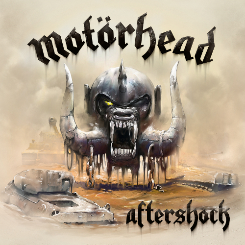 Motörhead - Aftershock - Cover