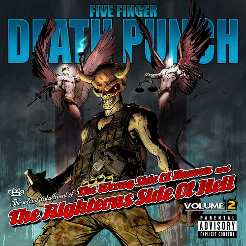 Five Finger Death Punch - The Wrong Side Of Heaven And The Righteous Side Of Hell, Vol. 2 - Cover
