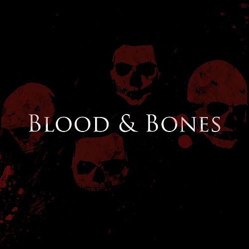 Johnny Deathshadow - Blood And Bones - Cover