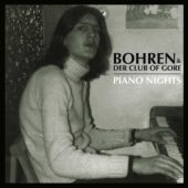 Bohren & Der Club Of Gore - Piano Nights - CD-Cover