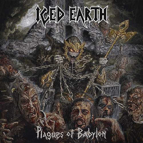 Iced Earth - Plagues Of Babylon - Cover