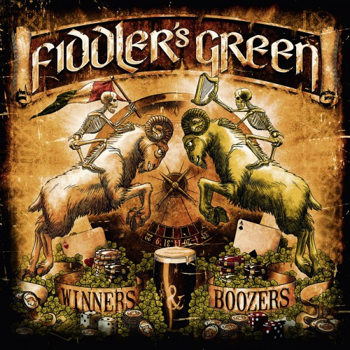 Fiddler's Green - Winners & Boozers - Cover