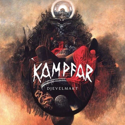 Kampfar - Djevelmakt  - Cover