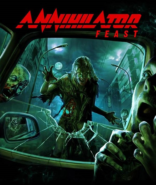 Annihilator - Feast (Re-Release) - Cover