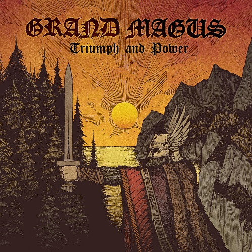 Grand Magus - Triumph And Power - Cover
