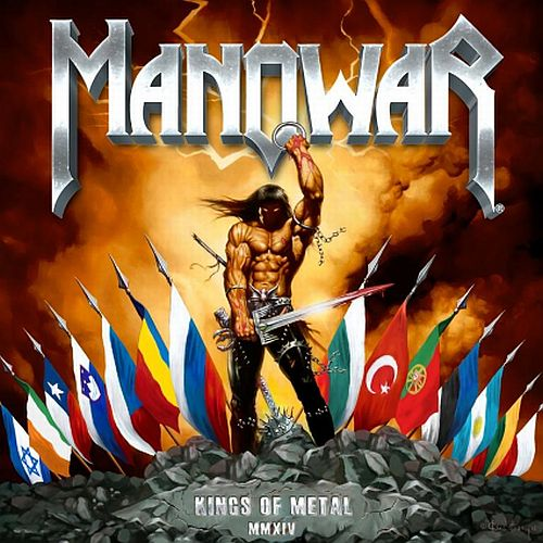 Manowar - Kings Of Metal MMXIV - Cover