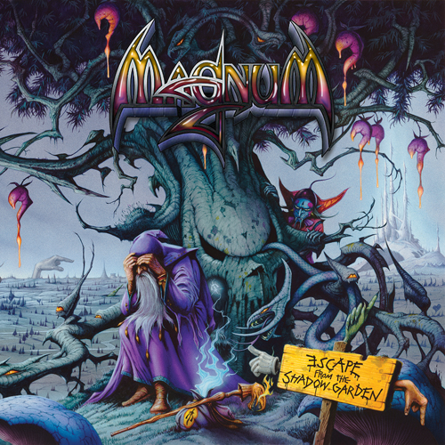 Magnum - Escape From The Shadow Garden - Cover