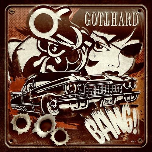 Gotthard - Bang! - Cover