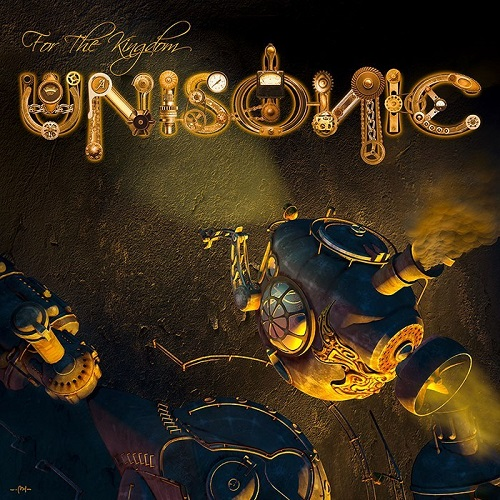Unisonic - For The Kingdom - Cover