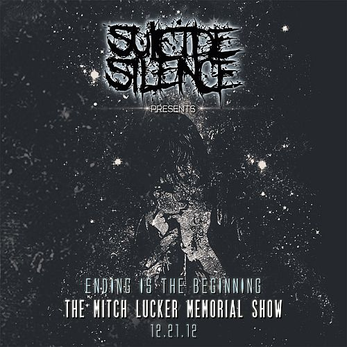 Suicide Silence - Ending Is The Beginning: The Mitch Lucker Memorial Show - Cover