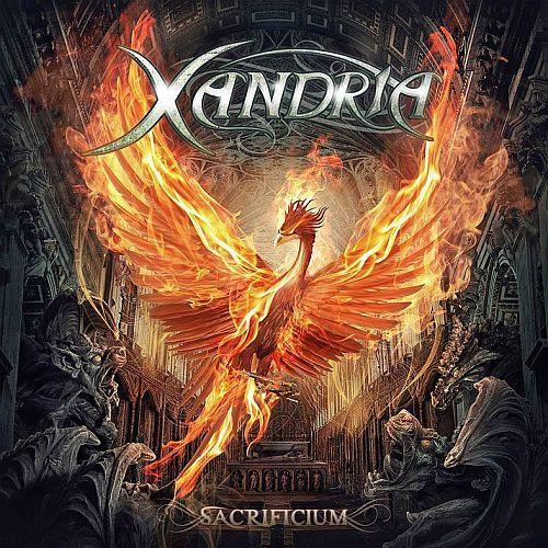 Xandria - Sacrificium - Cover