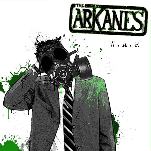 The Arkanes - W.A.R - Cover