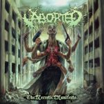 Cover - Aborted – The Necrotic Manifesto