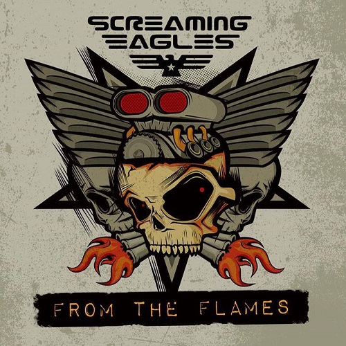 Screaming Eagles - From The Flames - Cover