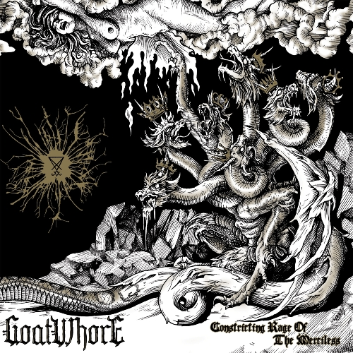 Goatwhore - Constricting Rage Of The Merciless - Cover