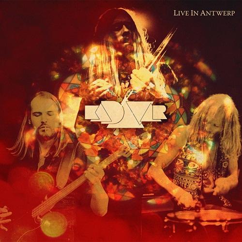 Kadavar - Live In Antwerp - Cover