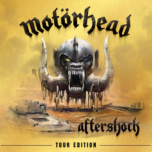 Motörhead - Aftershock (Tour Edition) - Cover