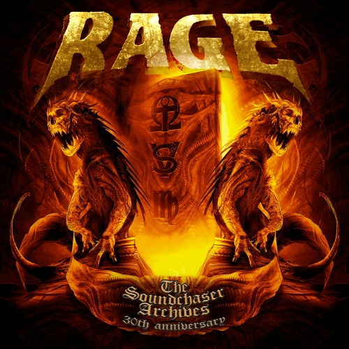 Rage - The Soundchaser Archives - Cover