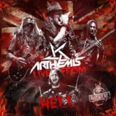 Arthemis - Live From Hell - CD-Cover