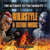 Various Artists - Wildstyle & Tattoo Music - The Ultimate Tattoo Sound Pt. 1 - CD-Cover