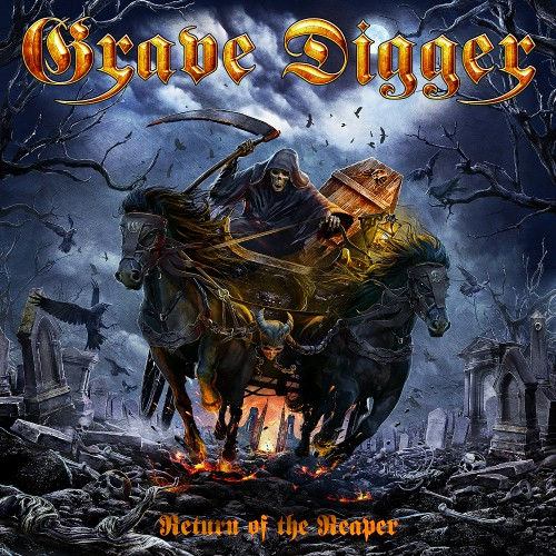 Grave Digger - Return Of The Reaper - Cover