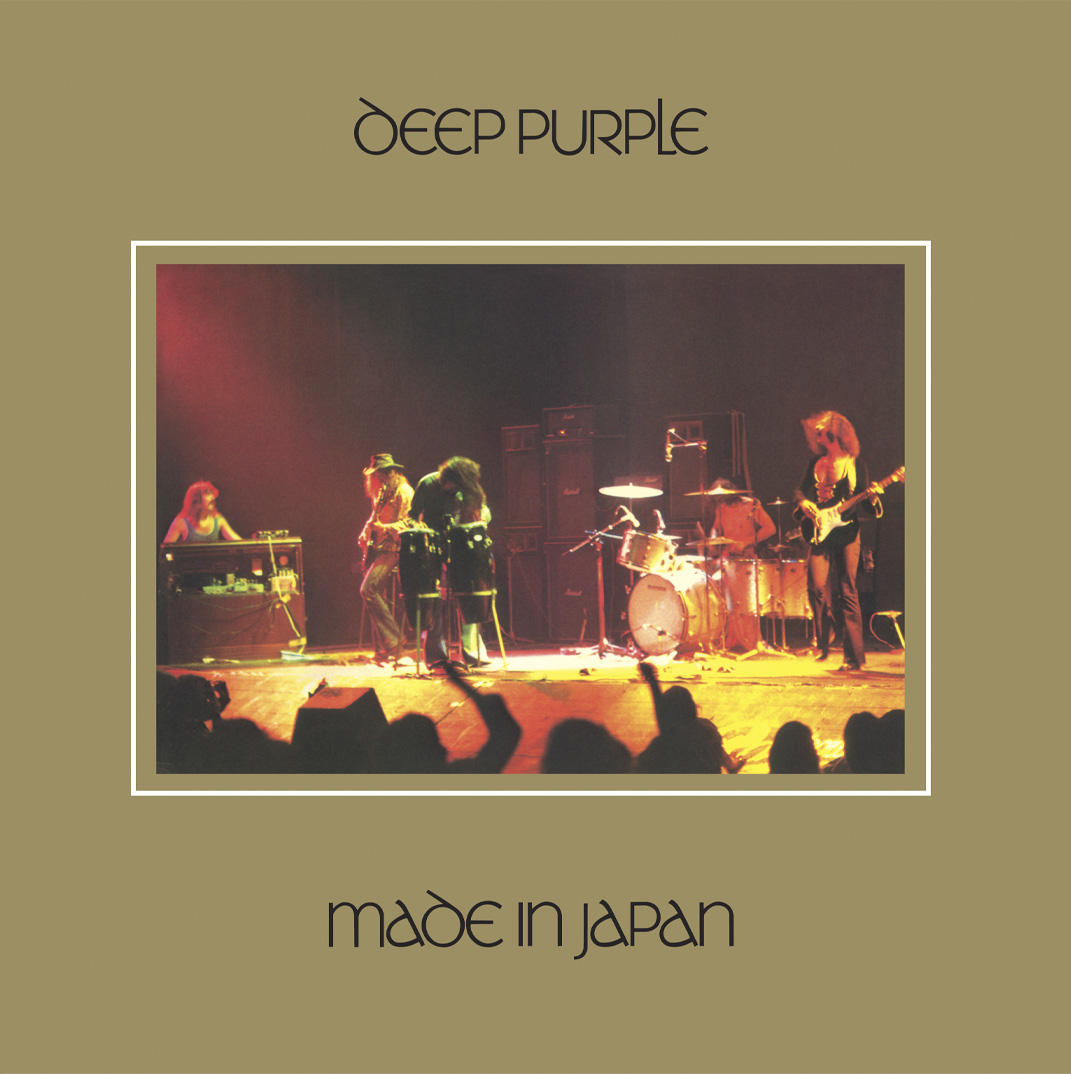 Deep Purple - Made in Japan (Re-Release) - Cover