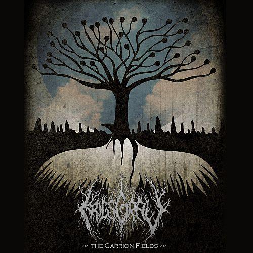 Krigsgrav - The Carrion Fields - Cover