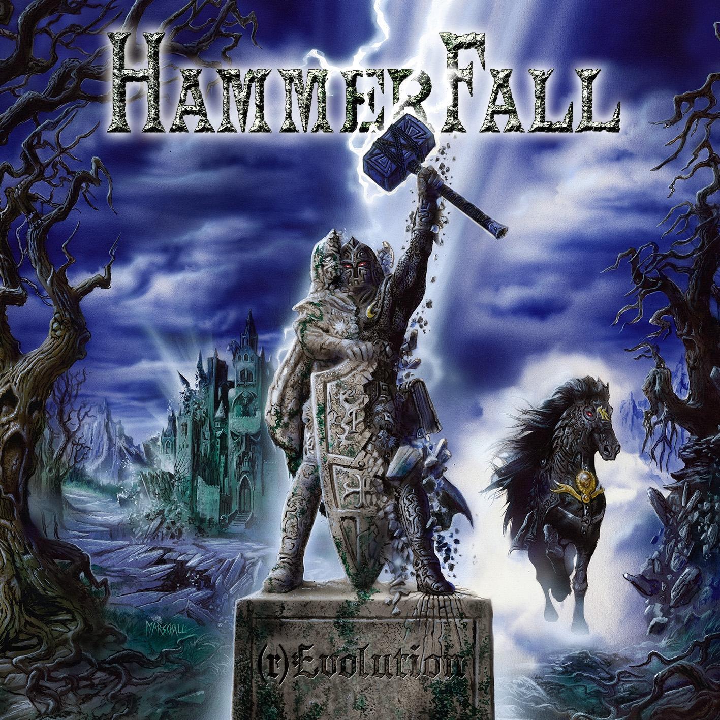 Hammerfall - (r)Evolution - Cover