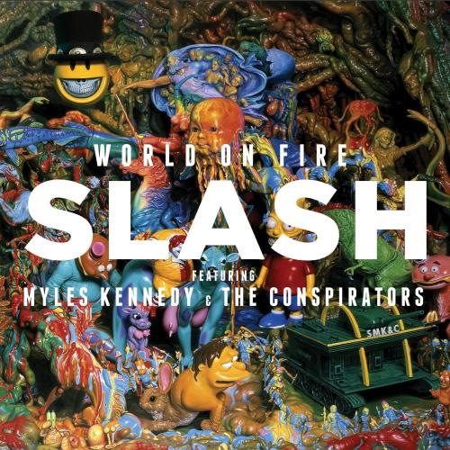 Slash - World On Fire - Cover