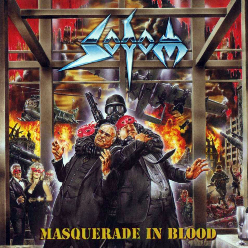Sodom - Masquerade In Blood - Cover
